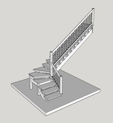 L-shaped-stairs-without-platform