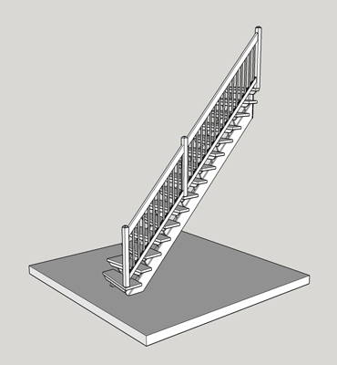 straight-stairs-with-cross-steps