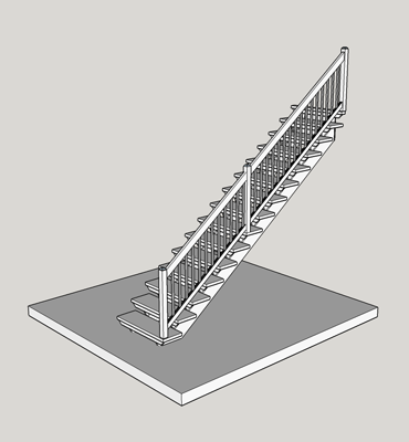 straight-stairs
